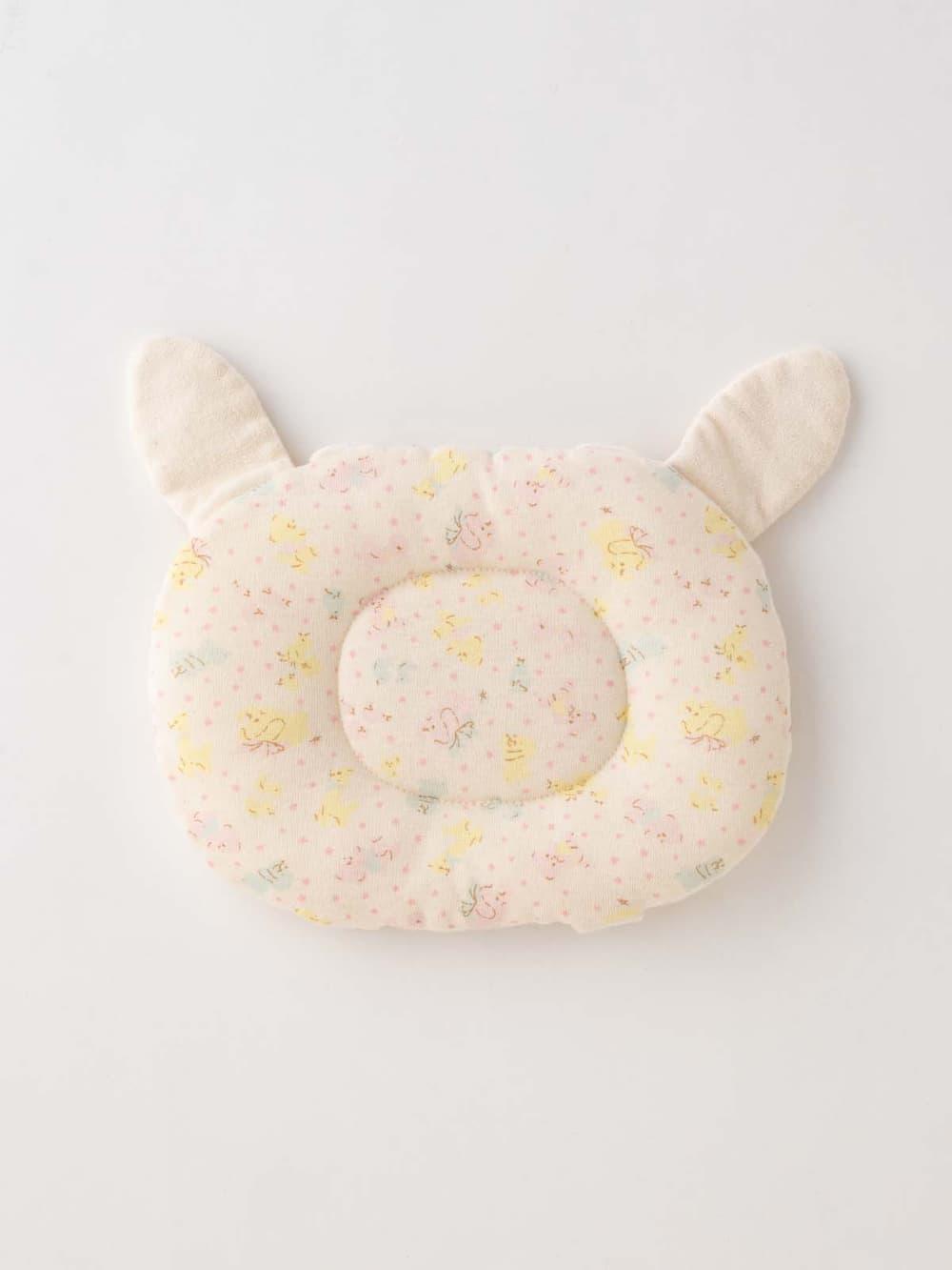 【ANGELIEBE/エンジェリーベ】 【日本製】【Boribon oeuf】オーガニックフライス授乳ピロー ピンク フリー