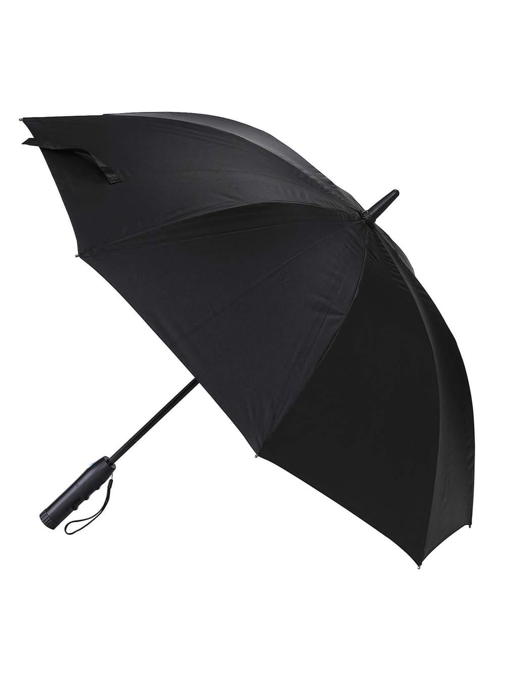 【ANGELIEBE/エンジェリーベ】 【SPICE】ファンファンパラソル 扇風機付き日傘 ブラック・60cm